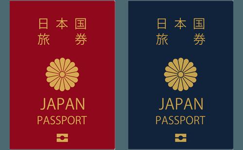 パスポート(顔写真・現住所記入欄有り)
