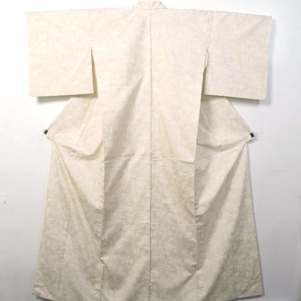 牛首紬の付下げ小紋