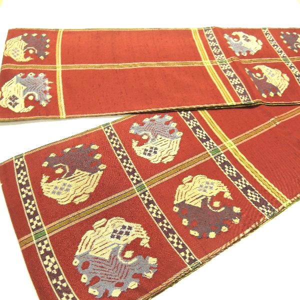 龍村平蔵製の本袋帯