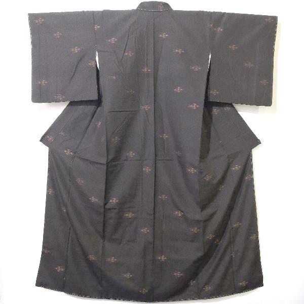 本場久米島紬証紙付の着物