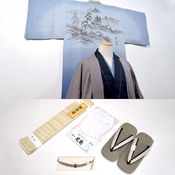 男性用フルセット【西陣御召】新品・未使用品
