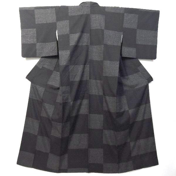 本場結城紬証紙付の着物