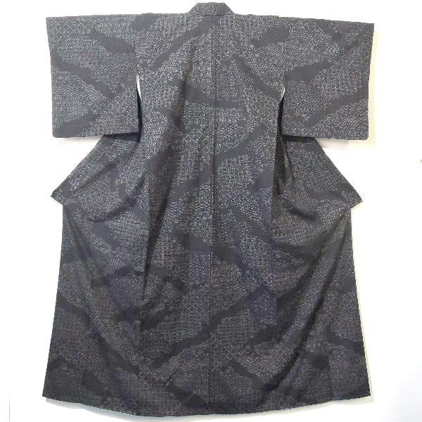 着物 人間国宝田中林次本場結城紬の着物