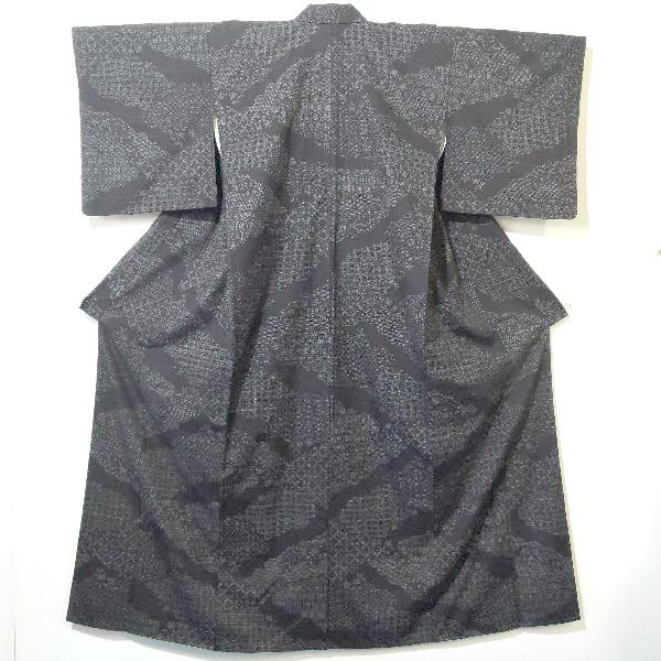 人間国宝田中林次本場結城紬の着物