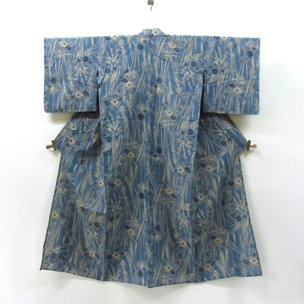 浴衣 【竺仙鑑製】 藍染