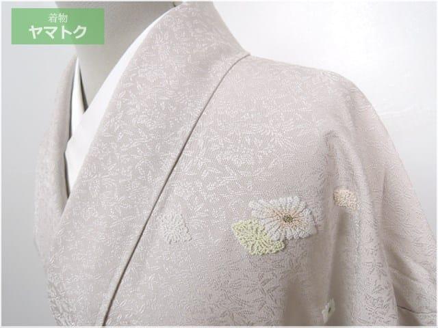 【着物買取実績】岐阜県のお客様から刺繍や型染め、辻が花などの着物を買取