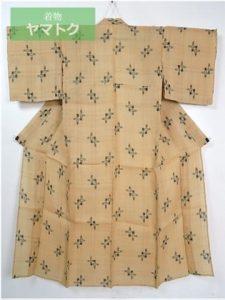 芭蕉布の単衣夏物