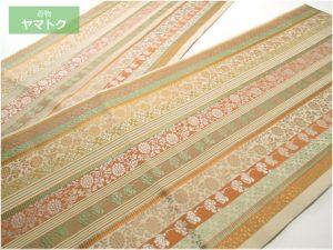 手織伝統工芸士の袋帯