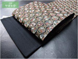 蜀江華文の袋帯