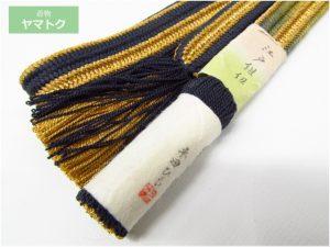 平田紐の帯締め