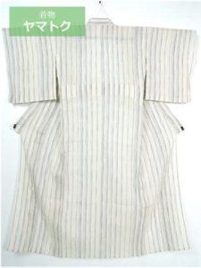 小千谷縮の単衣