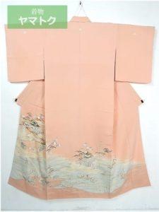 近江八景の色留袖
