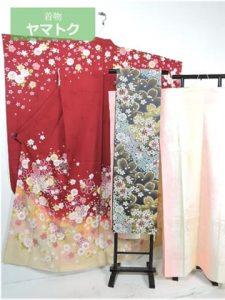 桜菊の振袖