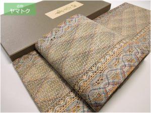 いづくら謹製の全通柄組織袋帯