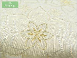 姫檜扇柄の帯