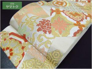 色紙散らしの袋帯