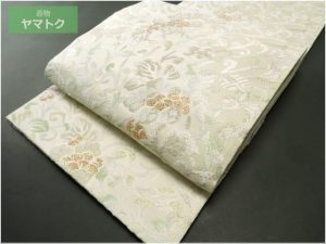 綴唐織の袋帯
