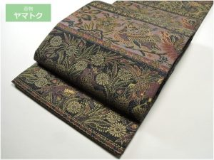 前田仁仙の袋帯