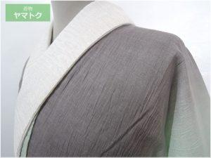 2色グラデーションの単衣長襦袢