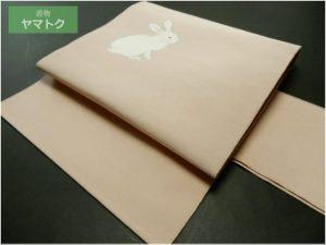 白兎の綴れ織名古屋帯