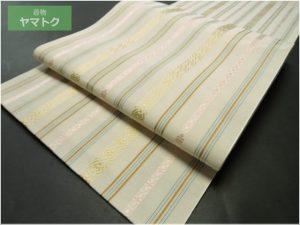 森博多織の紗八寸名古屋帯