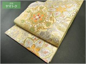 宝相華文の袋帯