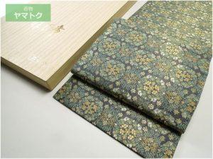 花丸段文の袋帯