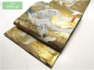 富嶽三十六景の袋帯