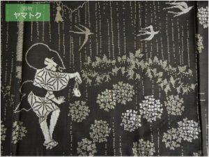 本場大島紬の絣柄