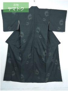 160山亀甲の結城紬