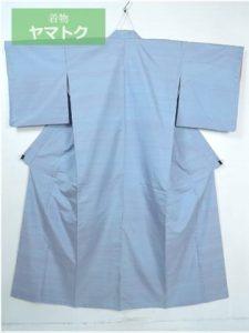 新田秀次の青色の着物