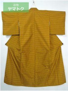 本場黄八丈の平織