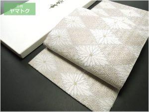 夏物唐織の袋帯