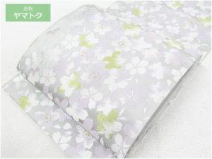 満開の桜の袋帯