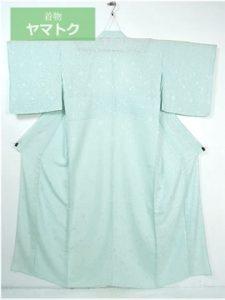 紋紗の単衣着物