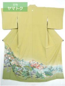 京加賀友禅の留袖