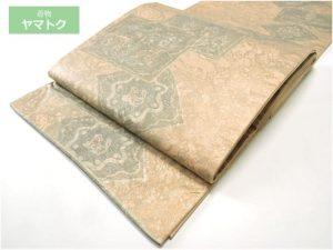 白山工房牛首紬の袋帯