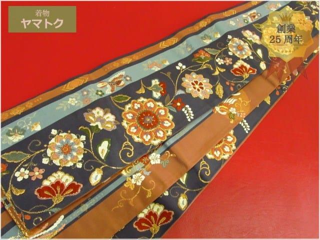 吉啓織物謹製の半幅帯